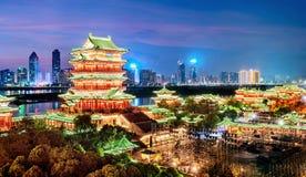 Arquitetura clássica chinesa Imagens de Stock Royalty Free
