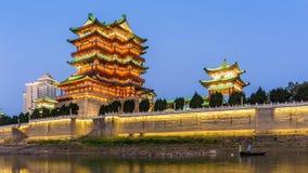 Arquitetura clássica chinesa video estoque