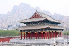 Arquitetura clássica chinesa Fotos de Stock Royalty Free