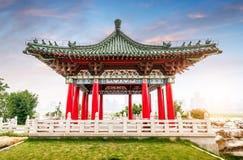 Arquitetura clássica chinesa Foto de Stock