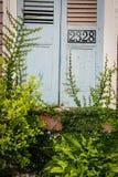 Arquitetura coberto de vegetação de Nova Orleães foto de stock royalty free