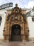 Arquitetura colonial da catedral metropolitana do sucre fotos de stock royalty free