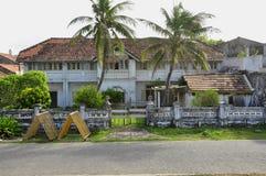 Arquitetura colonial holandesa Imagem de Stock Royalty Free