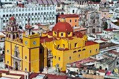 Arquitetura colonial mexicana Imagens de Stock