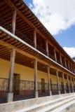 Arquitetura colonial no xecul guatemala de San Andres Foto de Stock