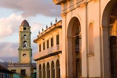 Arquitetura colonial, Trinidad Foto de Stock