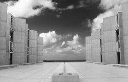 Arquitetura comercial moderna Fotografia de Stock Royalty Free