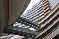 Arquitetura concreta moderna fotos de stock