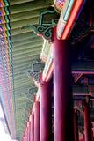 Arquitetura coreana tradicional. imagens de stock