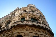 Arquitetura cubana da cidade Fotos de Stock