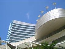 Arquitetura - Cyberport fotografia de stock