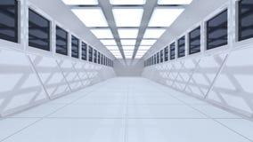 arquitetura 3d futurista Fotos de Stock Royalty Free