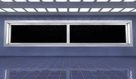 arquitetura 3d futurista Imagens de Stock Royalty Free