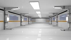arquitetura 3d futurista Fotografia de Stock