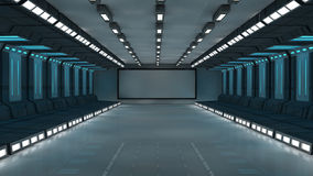 arquitetura 3d futurista Fotos de Stock