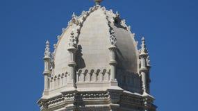 Arquitetura da abóbada na catedral fotos de stock
