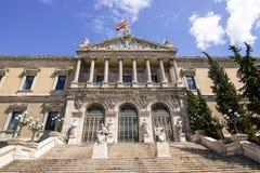 Arquitetura da biblioteca nacional Imagens de Stock