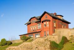 Arquitetura da casa da construção Imagens de Stock Royalty Free