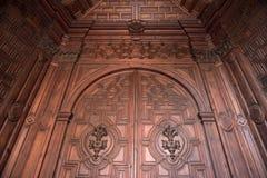 Arquitetura da catedral de Granada foto de stock