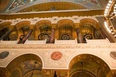 Arquitetura da catedral de Kronstadt Imagem de Stock
