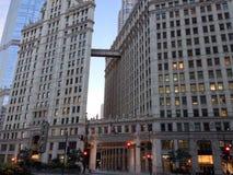 Arquitetura da Chicago-cidade Fotografia de Stock