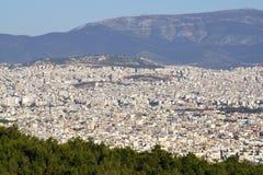Arquitetura da cidade: Atenas Fotografia de Stock Royalty Free