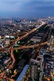 Arquitetura da cidade Banguecoque Foto de Stock Royalty Free