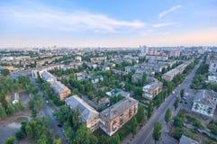 Arquitetura da cidade bonita do verão Imagem de Stock Royalty Free