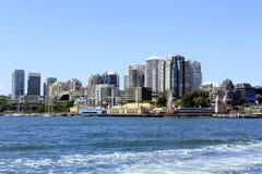 Arquitetura da cidade da cidade em Sydney Australia Fotografia de Stock Royalty Free