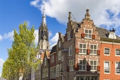 Arquitetura da cidade da louça de Delft Imagem de Stock Royalty Free