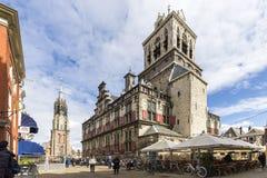 Arquitetura da cidade da louça de Delft Imagem de Stock