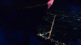 Arquitetura da cidade da opinião de ângulo alto de Banguecoque video estoque