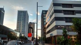 Arquitetura da cidade da região de Auckland imagem de stock royalty free