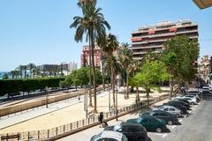 Arquitetura da cidade de Alicante spain Fotos de Stock