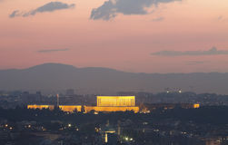 Arquitetura da cidade de Ancara Imagem de Stock