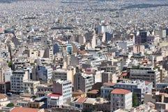 Arquitetura da cidade de Atenas Fotografia de Stock
