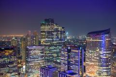 Arquitetura da cidade de Banguecoque Imagem de Stock