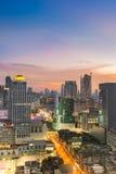 Arquitetura da cidade de Banguecoque Foto de Stock