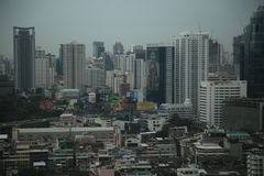 Arquitetura da cidade de Banguecoque Foto de Stock Royalty Free