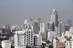 Arquitetura da cidade de Banguecoque do centro Imagens de Stock Royalty Free