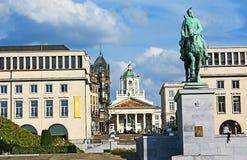 A arquitetura da cidade de Bruxelas Fotos de Stock