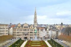 Arquitetura da cidade de Bruxelas, Bélgica Foto de Stock Royalty Free