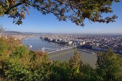 Arquitetura da cidade de Budapest no dia Imagem de Stock