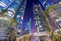Arquitetura da cidade de Busan imagens de stock royalty free