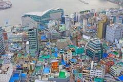 Arquitetura da cidade de Busan Imagem de Stock Royalty Free