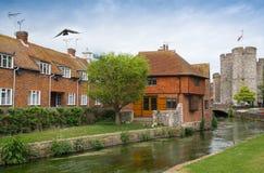 Arquitetura da cidade de Canterbury, Kent Reino Unido foto de stock royalty free
