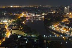 Arquitetura da cidade de Chiangmai Fotografia de Stock Royalty Free