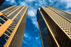Arquitetura da cidade de Dallas fotografia de stock royalty free