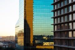 Arquitetura da cidade de Dallas Foto de Stock Royalty Free