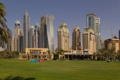 Arquitetura da cidade de Dubai Foto de Stock